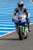 Yonny Hernandez pilot of MotoGP — Stockfoto