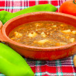 Soup of lentils — Stock Photo #17424351