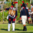 Historical military reenacting — Stockfoto #17424525