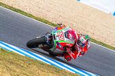 Nicky Hayden pilot of MotoGP — Stock Photo