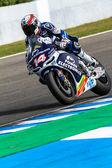 Randy de Puniet pilot of MotoGP — Stock Photo