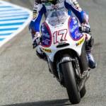 Постер, плакат: Karel Abraham pilot of MotoGP