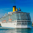 Cruiser CostMediterranea — Stockfoto #17829227