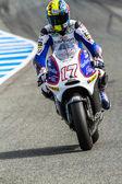 Karel Abraham pilot of MotoGP — Stock Photo