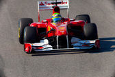 团队费利佩 · 马萨法拉利 f1 2011 — 图库照片