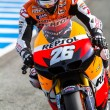 Dani Pedrosa pilot of MotoGP - Stock Photo