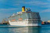 巡洋舰哥斯达黎加地中海 — 图库照片