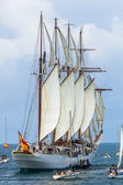 Statek juan Sebastián elcano de — Zdjęcie stockowe