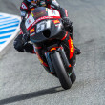 Michelle Pirro pilot of MotoGP — Stock Photo #18513343