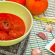 Stock Photo: Meatballs with tomato sauce