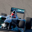Team Mercedes F1, Michael Schumacher, 2011 — Foto de stock #18515581