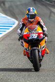 Dani Pedrosa pilot of MotoGP — Stock Photo