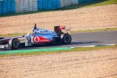 Team McLaren F1, Lewis Hamilton, 2011 — Stock Photo