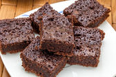 Lots of brownies — Stock Photo