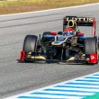 Team Lotus Renault F1, Romain Grosjean, 2012 - Stock Photo