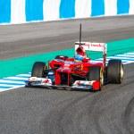 Постер, плакат: Scuderia Ferrari F1 Fernando Alonso 2012