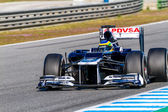 Team Williams F1, Bruno Senna, 2012 — Foto de Stock