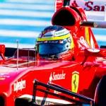 Постер, плакат: Scuderia Ferrari F1 Pedro de la Rosa 2013