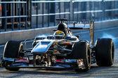 Sauber F1 Team, Esteban Gutierrez ,2013 — Stock Photo