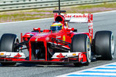 Scuderia Ferrari F1, Pedro de la Rosa, 2013 — Stock Photo