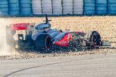 Team McLaren F1, Sergio Perez, 2013 — Stock Photo