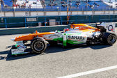 Team Force India F1, Jules Bianchi, 2013 — Stock Photo