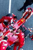 Scuderia Ferrari F1, Pedro de la Rosa, 2013 — Stock Photo