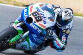 Yonny Hernandez pilot of MotoGP — Stock Photo