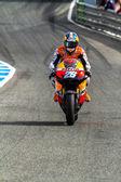 Dani Pedrosa pilot of MotoGP — Stock Photo