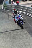 Jorge Lorenzo pilot of MotoGP — Stock Photo