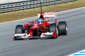 スクーデリア ・ フェラーリ f1 フェルナンド ・ アロンソ、2012年 — ストック写真