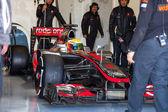 Team McLaren F1, Lewis Hamilton, 2012 — Foto de Stock