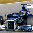 Team Williams F1, Bruno Senna, 2012 — Stock Photo