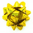 Yellow bow — Stock Photo