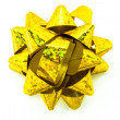 Stock Photo: Yellow bow