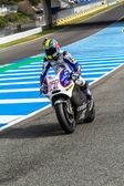 Karel Abraham pilot of MotoGP — ストック写真
