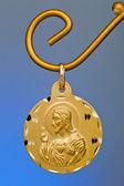 Altın kolye — Stok fotoğraf