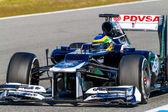 团队 · 威廉姆斯 f1,布鲁诺番泻叶 2012 — 图库照片