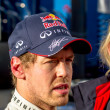 Постер, плакат: Team Red Bull F1 Sebastian Vettel 2013