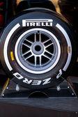Pnömatik lastikler pirelli — Stok fotoğraf