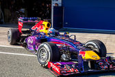 Team Red Bull F1, Sebastian Vettel, 2013 — Foto de Stock