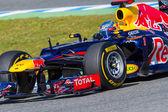 Team Red Bull F1, Sebastian Vettel, 2012 — Foto de Stock