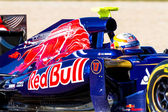 Team Toro Rosso F1, Jean Eric Vergne, 2012 — Stock Photo