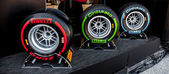 Pneumatic tires Pirelli — Stockfoto