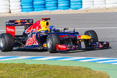 Team Red Bull F1, Sebastian Vettel, 2012 — Stockfoto