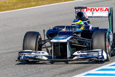 Team Williams F1, Bruno Senna, 2012 — Stockfoto