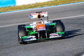 Team Force India F1, Nico Hülkenberg, 2012 — Stock Photo