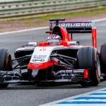 ������, ������: Team Marussia F1 Jules Bianchi 2014