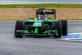 Team Caterham F1, Kamui Kobayashi, 2014 — Zdjęcie stockowe