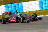 Mclaren F1, Lewis Hamilton, della squadra 2012 — Foto Stock